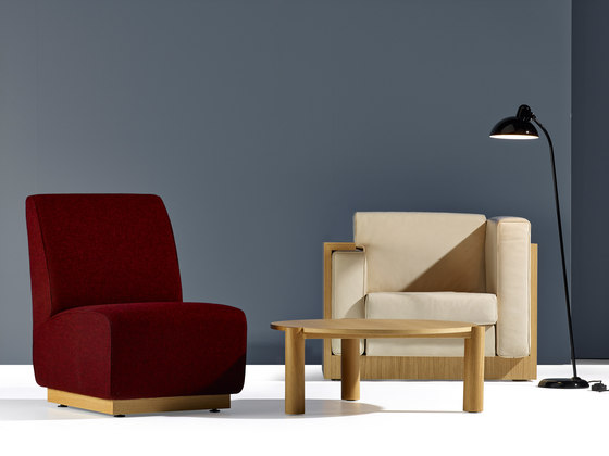 Alpha Seating Three-seater sofa by VS