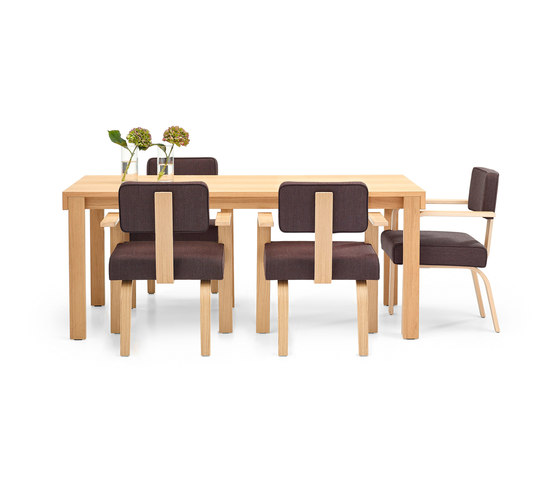 Dining Armchair Wood by VS