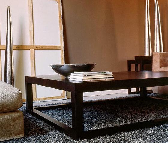 Lof Lamp table with frame leg by Van Rossum