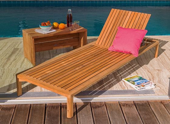 Newport Double Sun lounger by Weishäupl