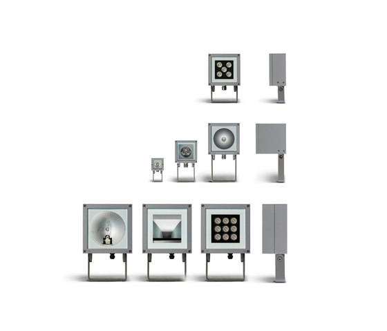 Microloft square wall mounted by Simes