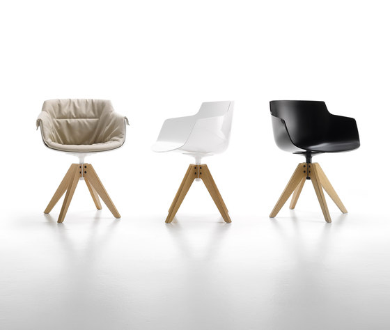 Flow slim armchair* by MDF Italia