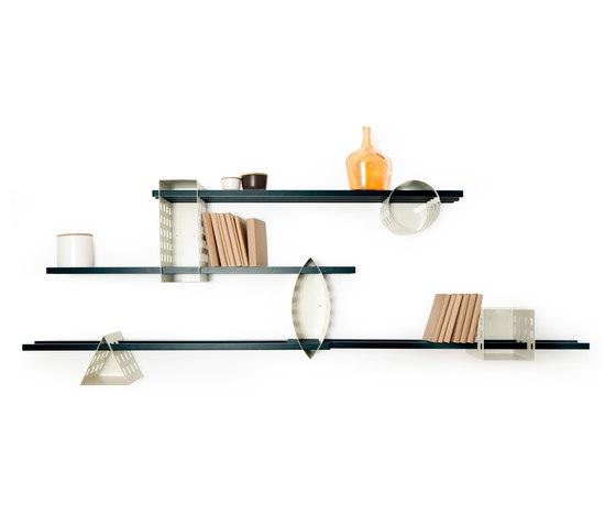 Ray Shelf - Mono Shelving System by Matteo Gerbi Limited