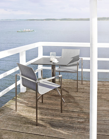 Pure Stainless Steel Deck Chair de solpuri
