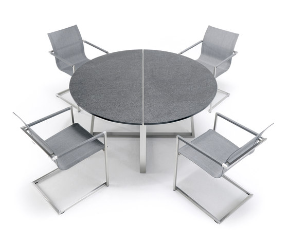 Pure Stainless Steel Footstool de solpuri
