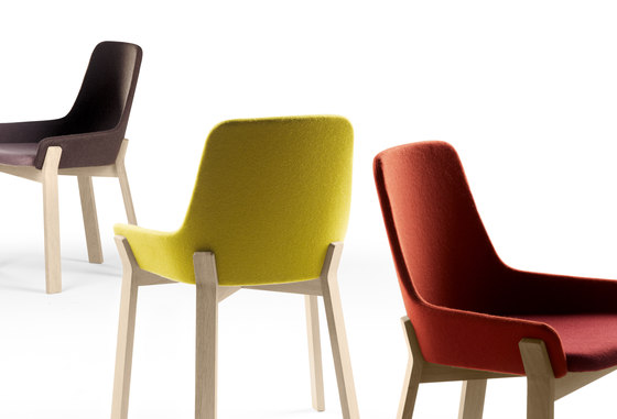 Koila chair restaurant chairs from alki architonic - Chaise pliante en tissu ...