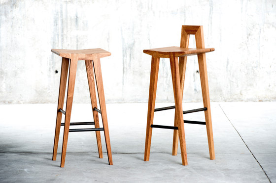 Grable high stool by QoWood