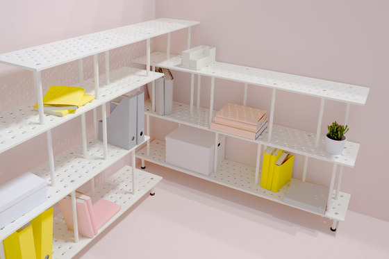 3+ Shelving System | Plate Pack | S by Zieta
