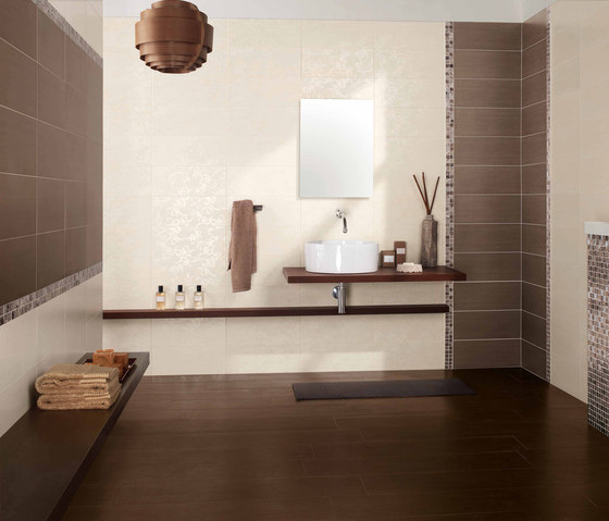Full grey floor tile von Ceramiche Supergres