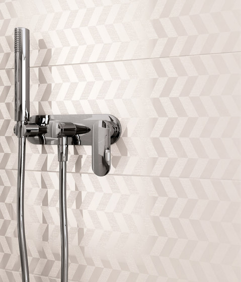 Melody toffee geometrico by Ceramiche Supergres