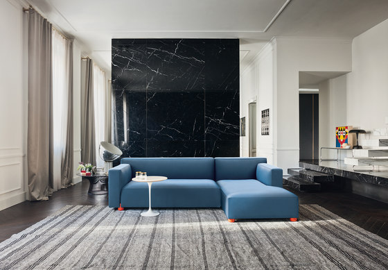 Sofa Collection by Edward Barber & Jay Osgerby Armchair by Knoll International