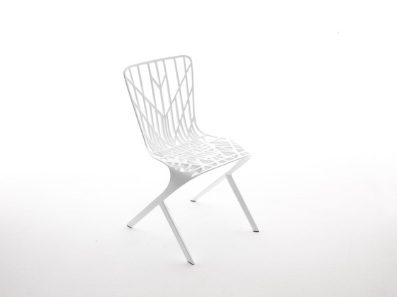 Washington Skeleton™ Aluminum Side Chair de Knoll International