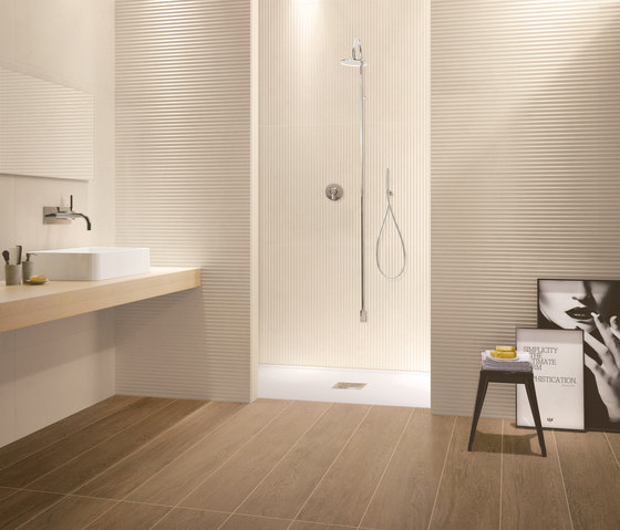 RE.SI.DE marfil floor tile von Ceramiche Supergres