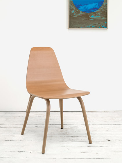 Tram chair upholstered by TON
