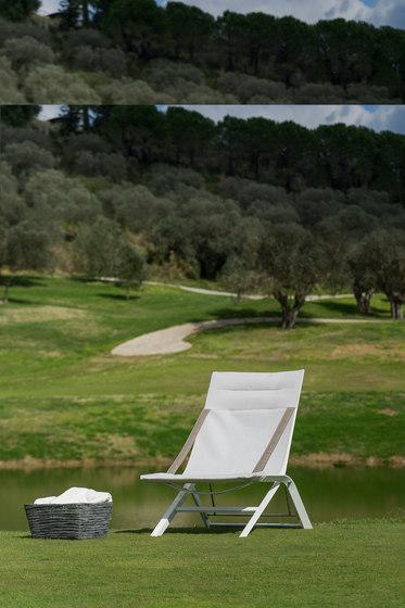 Panarea Sun lounger by Unopiù