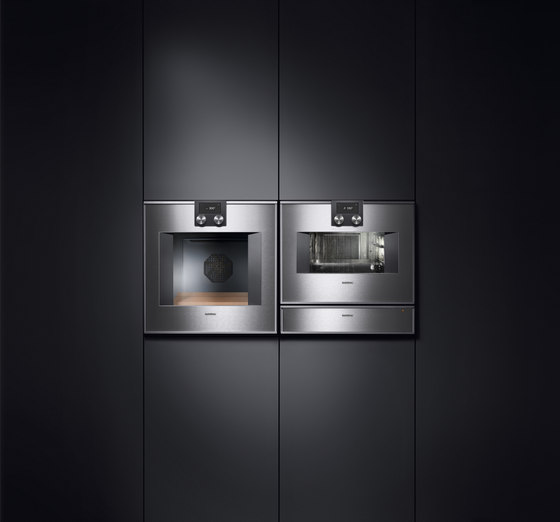 ovens 400 series by gaggenau double oven 400 series bx. Black Bedroom Furniture Sets. Home Design Ideas
