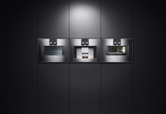 double oven 400 series bx 480 bx 481 ovens by gaggenau. Black Bedroom Furniture Sets. Home Design Ideas