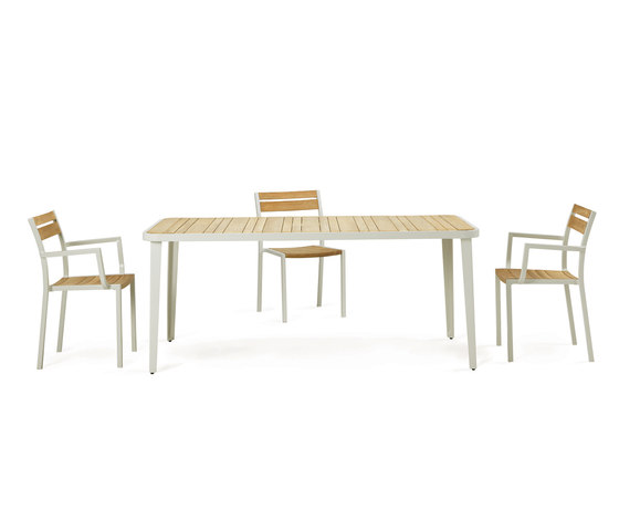Meridien table by Ethimo
