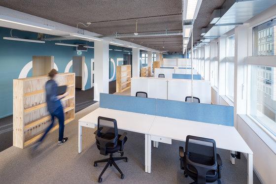 7100 Desk by Lensvelt