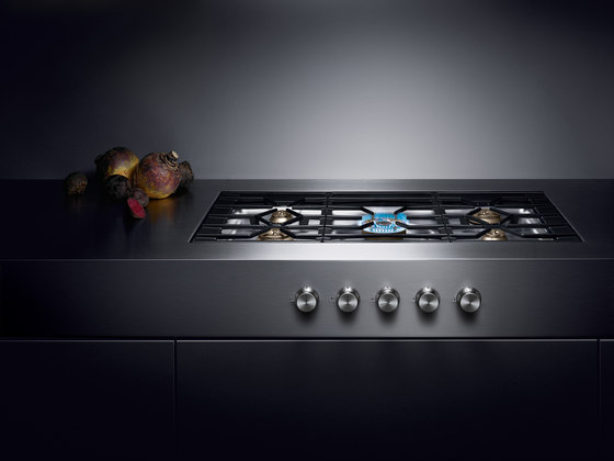 gas cooktop cg 492 hobs by gaggenau architonic. Black Bedroom Furniture Sets. Home Design Ideas