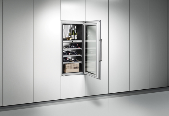 vario vino cantina rw 464 rw 414 frigoriferi gaggenau architonic. Black Bedroom Furniture Sets. Home Design Ideas