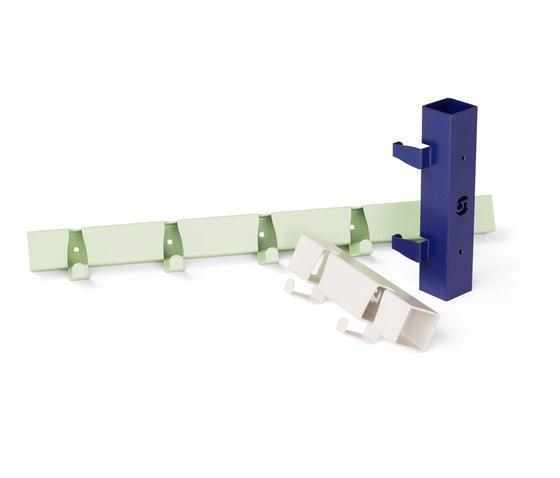 Coatrack By The Meter 5 Hooks blue by Vij5