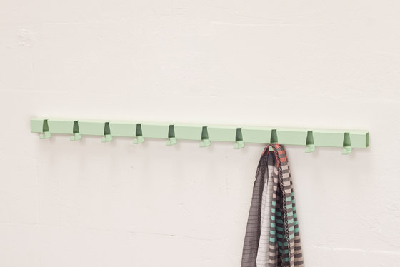 Coatrack By The Meter 10 Hooks blue de Vij5