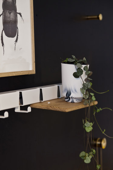 Coatrack By The Meter 10 Hooks | blue by Vij5
