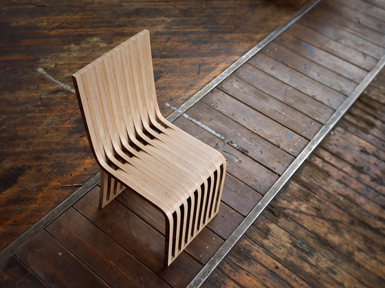 slice chair de Graypants