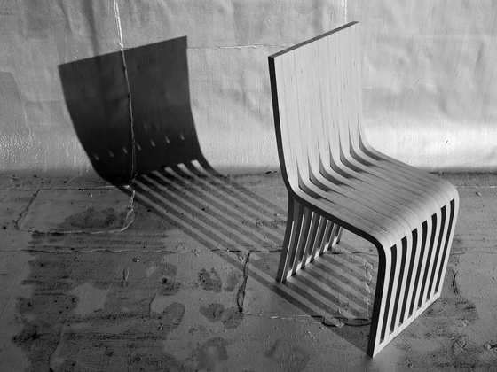 slice chair by Graypants