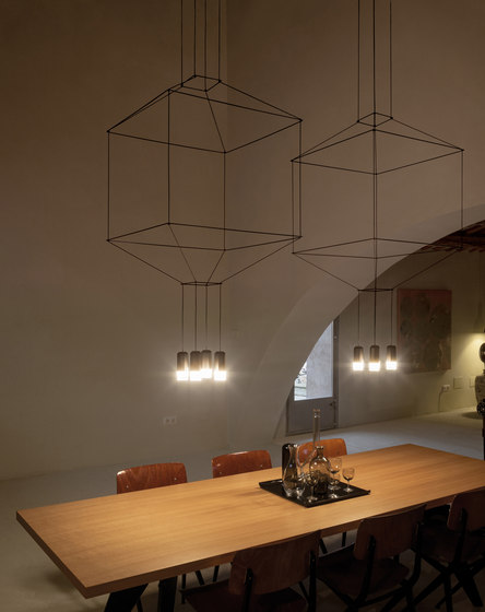 Wireflow 0305 Pendant lamp by Vibia