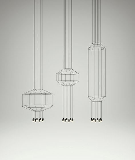 Wireflow 0300 Pendant lamp by Vibia