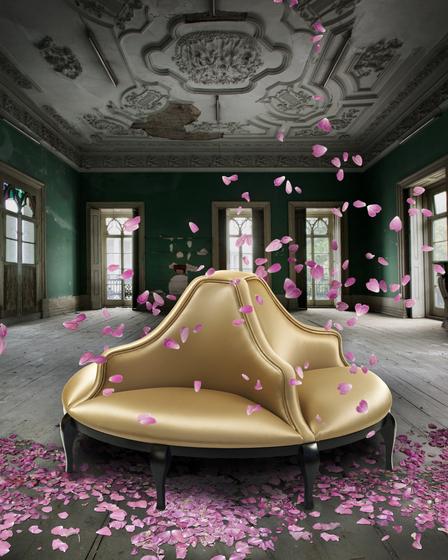 Madeleine | Round Sofa von MUNNA