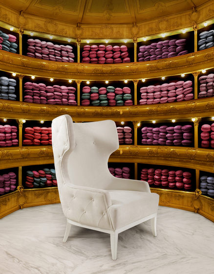 Soft & Creamy | Limited Edition Armchair by MUNNA