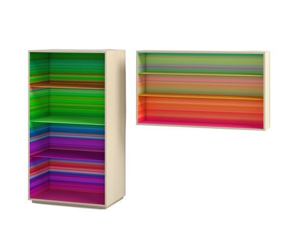 ColorFall bookcase by CASAMANIA-HORM.IT