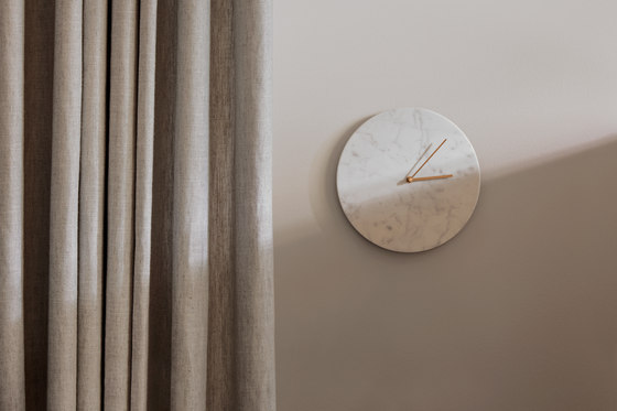 Marble Wall Clock, Green by MENU