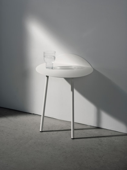 Yeh Wall Table, Tall, White by MENU