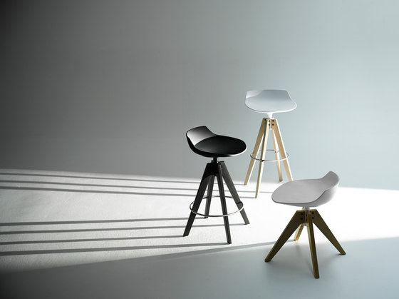 Flow stool by MDF Italia