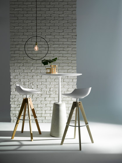 Rock Table by MDF Italia