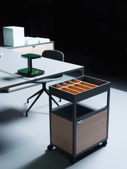 new order workspace trolley by hay service tables carts architonic. Black Bedroom Furniture Sets. Home Design Ideas