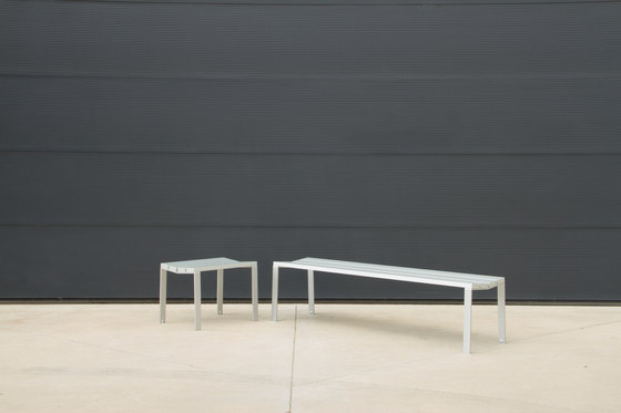 Harpo Backless Bench by Santa & Cole