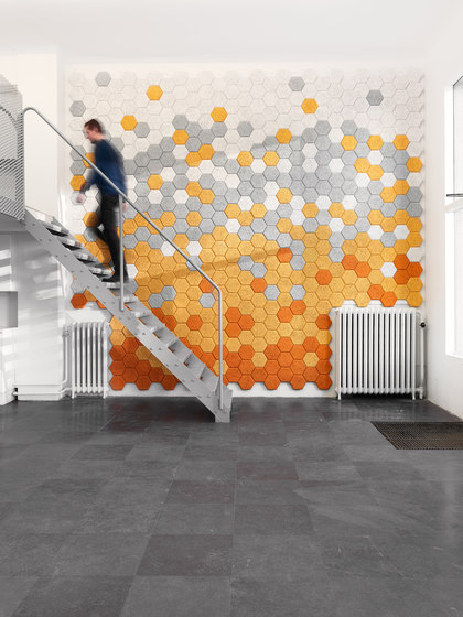 BAUX Acoustic Tiles Plank - Reception by BAUX