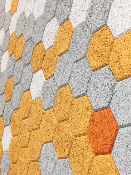 BAUX Acoustic Tiles Plank - Terminal by BAUX
