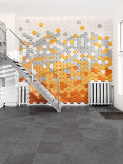 BAUX Acoustic Tiles Plank - Stairway by BAUX