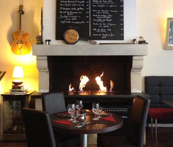 Quemadores de bioetanol glammfire burner i burner ii for Chimeneas interiores sin humo