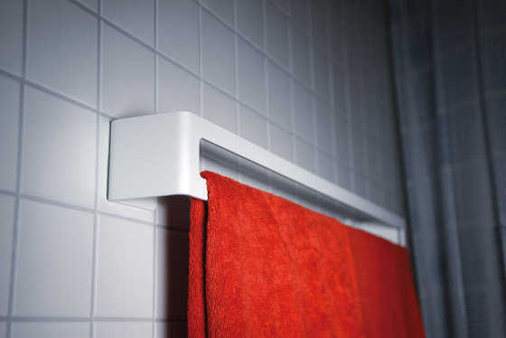 radius puro bath towel holder by Radius Design