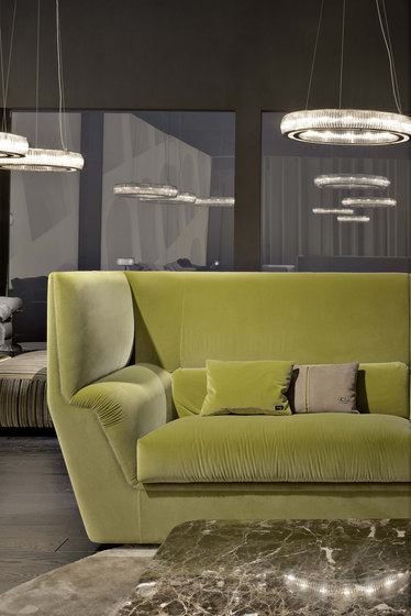Cocoon high sofa by Fendi Casa