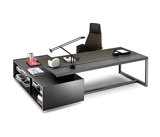 Jobs Easy Desk Large by Poltrona Frau
