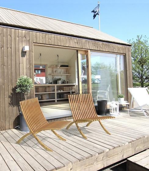 Nozib sun lounger by Skargaarden