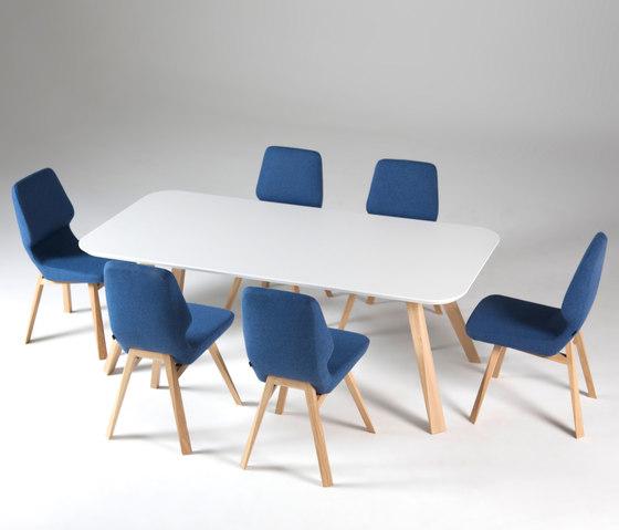 Oblique table by Prostoria